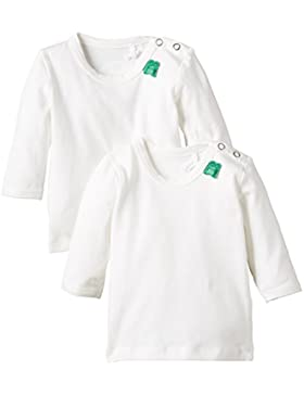 Fred's World Unisex Baby T-Shirt Alfa L/SL T 2-Pack NOOS Baby