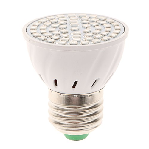 MagiDeal 220V 8W E27 LED Pflanzenlichter Pflanzenlampe Pflanzenleuchte Glühbirne für Garten Pflanzen , Lichtfarbe Rot und Blau