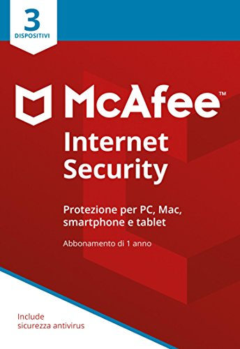 Foto McAfee MIS 3 Internet Security con 3 Dispositivi
