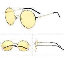 Amazon.es: gafas de sol cristal redondo