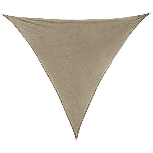 Sonnensegel-SUN-FRANCIS-dreieckig-in-verschiedenen-Gren-und-Farben-wetterbestndig-wasserabweisend-Garten-Terrasse-Camping-Caravaning-Sonnenschutz-100-PES-Sichtschutz-Windschutz-Tarp-Gre-Flche5m-x-5m-x