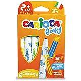 Carioca - Caja de 6 rotuladores Baby Marker (42813)
