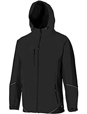 Dickies JW7010 - Dos tonos de negro chaqueta softshell 3xl negro