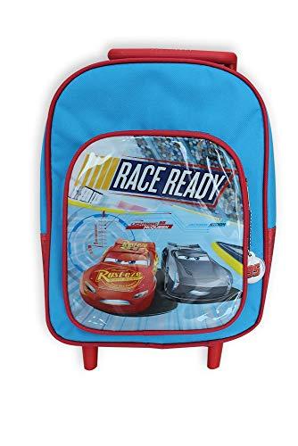 MCM CA0117 Trolley C/tasca Cars Zainetto per Bambini, 30 cm, Multicolore