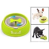 Itian Perro alimentador alimentación lenta Pet Bowl - saludable diseño bol para perro de mascota, Reducir significativamente la velocidad de comer perro perro, restaurar la original forma natural de comer