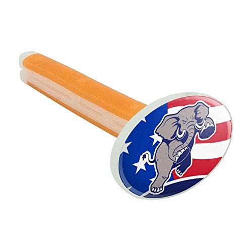 Preisvergleich Produktbild Angry Republikanischen Elefant Politik GOP American Flagge Auto-Lufterfrischer Vent Clip–Citrus Blossom Duft