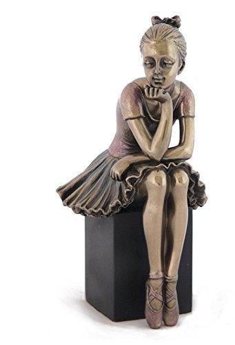 "15,87 cm (6,25"") Ballerina-Watch and Learn-Statuetta in bronzo"