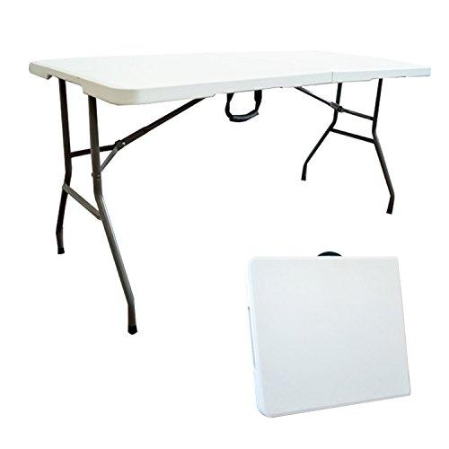 Todeco - Table Pliante Transportable, Table en Plastique d'occasion  Livré partout en Belgique