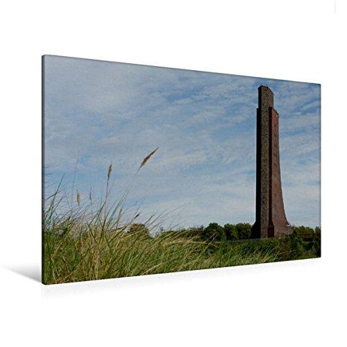 Calvendo Premium Textil-Leinwand 120 x 80 cm Quer-Format Ehrenmal der Marine   Wandbild, HD-Bild auf Keilrahmen, Fertigbild auf hochwertigem Vlies, Leinwanddruck von Tanja Riedel Natur Natur