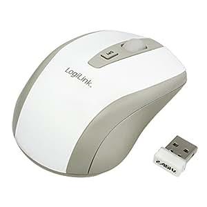 LogiLink ID0030 schnurlose optische mini Maus weiß
