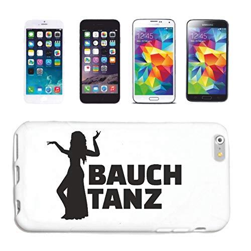 Phone 7S Bauchtanz - BAUCHTÄNZERIN - KOSTÜM - VORFÜHRUNG - BAUCHTANZUNTERRICHT Hardcase Schutzhülle Handycover Smart Cover für Apple iPhone in Weiß ()