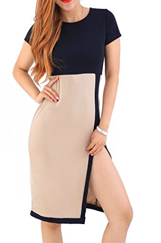 yming-women-short-sleeve-wear-to-work-pencil-business-party-bodycon-casual-dress