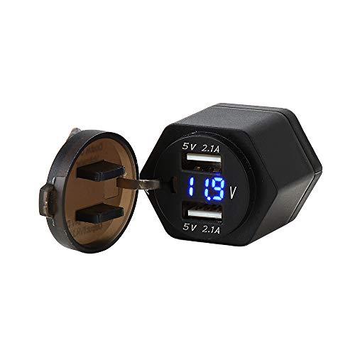 Motorrad Adapter Bordsteckdose Dual USB Ladegerät für R1200GS R1200RT F800 -