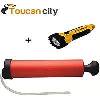 Hilti 60579 Bomba de soplado manual y linterna LED de ciudad de Tucán