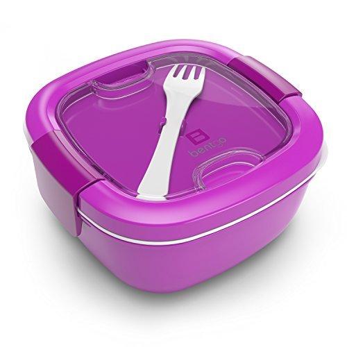 Bentgo Salad - Pour emporter facilement les salades et les autres en-cas - Boîte à déjeuner respectueuse de l'environnement et sans bisphénol A