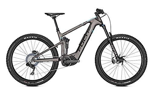 Focus Jam² 9.7 Plus Shimano Steps Fullsuspension Elektro All Mountain Bike 2019 (L/47cm, Grey)