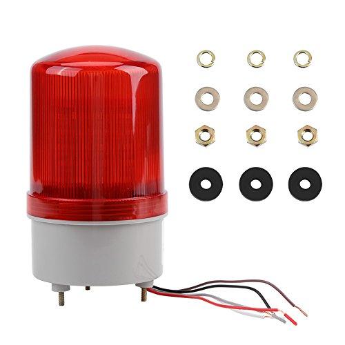 Ritual LED Stroboskoplicht, Warnlicht, rotes Notfallblinklicht, Warnlicht, Blinklicht, Barrikade, Sicherheitsschild, Straßenbauschilder, Blinklicht, Flackerlicht Strobe Assembly