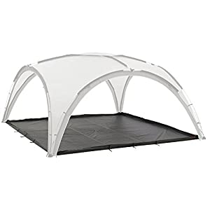 41i9U%2BbOE6L. SS300  - Coleman Zippable Deluxe Groundsheet for Event Shelter - Black, 4.5 x 4.5 m/X-Large