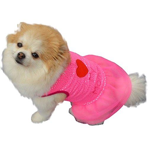 te Kostüm - Verkleidung - geschrieben - ich Liebe Mama - I Love Mommy - Hund (L) ()