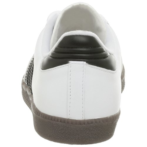 adidas Samba Classic Leather Soccer Shoe (Toddler/Little Kid/Big Kid),Nero/Running bianco,11.5 M US Little Kid White/Black/Running White