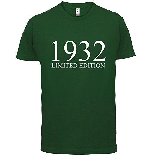 1932 Limierte Auflage / Limited Edition - 85. Geburtstag - Herren T-Shirt - 13 Farben Flaschengrün