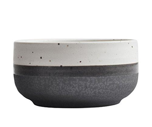 zhdc Geschirr-Reis im japanischen Stil Geschirr Vase aus Keramik ungeschliffen Kleine Schale...