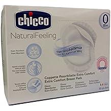 Chicco almohadillas de lactancia–Antibacteriano Discos de lactancia–30de 0m +, tela suave. Envío gratis Mundial
