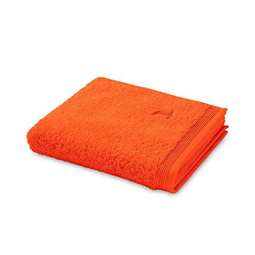möve Superwuschel Handtuch 50 x 100 cm aus 100% Baumwolle, red orange