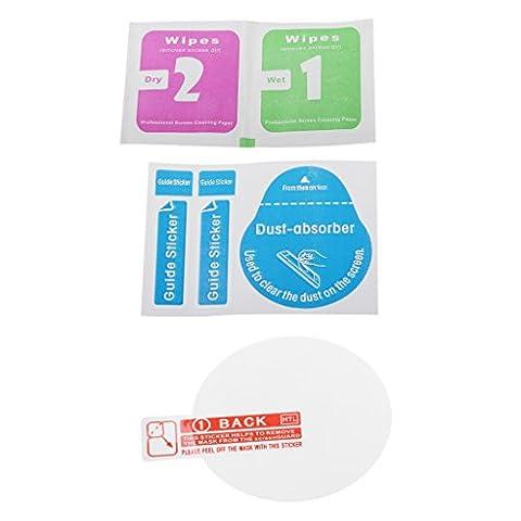 MagiDeal 9H Gehärtetes Glas Displayschutzfolie Displayschutz Schutzhülle für Garmin Forerunner Fenix 3 HR Sport (März Glas)