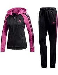 adidas Performance Damen Trainingsanzug rosa 36: