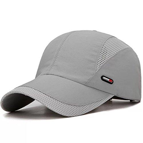 LAOWWO Baseball Cap Golf Tennis Mesh Männer Frauen Freizeit Kappe Cap Sonnenschutzkappe Einstellbare Atmungsaktives Belüftungsöffnungen UV-Schutz Schnell Trocknende -