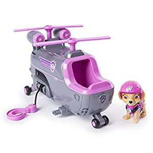PAW Patrol Ultimate Rescue — Skye's Ultimate Rescue Helicopter with Moving Propellers and Rescue Hook, for Ages 3 and Up