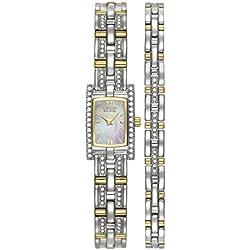 Citizen Ladies Eco-Drive Watch & Bracelet Set Eg2354-65D