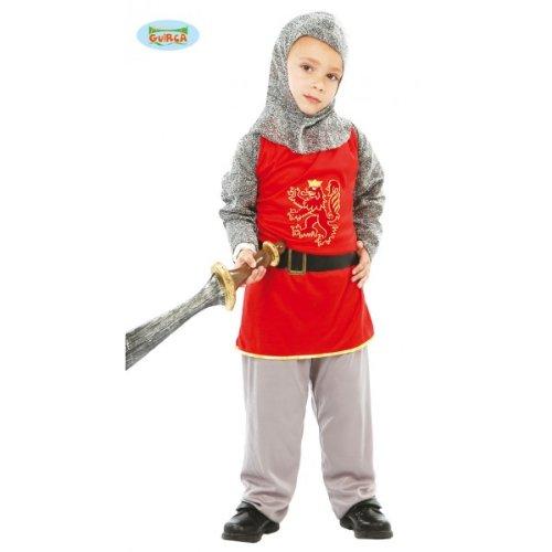 Costume Cavaliere Medievale, Guerriero Feudale - Bambino - Taglia 10/12 Anni