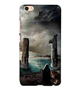 For Vivo Y55L attack machine ( army tank, fire tank, attack machine, gun machine ) Printed Designer Back Case Cover By TAKKLOO