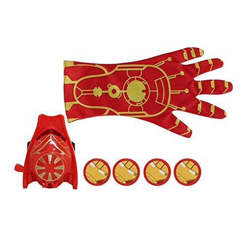 (Super Heroic Figur Cartoon Handschuh Launcher Spielzeug Kinder Kind Cosplay Kostüm Spielen Prop Weihnachten Kinder Spielzeug Freie Größe - Bunte)