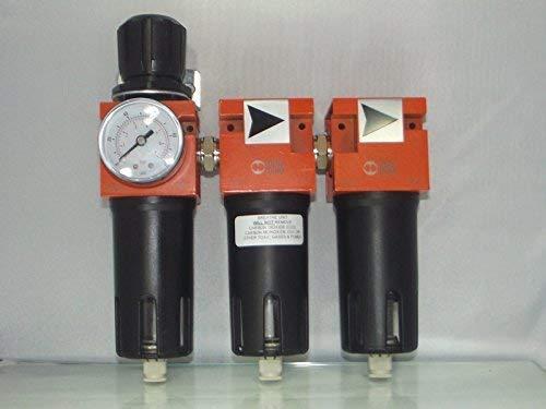 Dreifach-filtration (3 Stage Breathing Air als coalescent Filter dreifach Filtration System, Luft & Clean Zimmer)