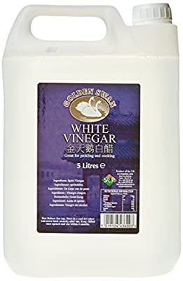 Golden Swan White Vinegar 5 Litre (Pack of 4)