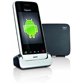 Gigaset SL 930 A Telefono Cordless, Android 4.0, Touchscreen, Nero [Italia]