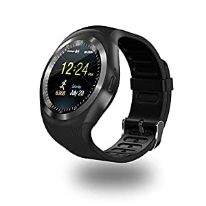 Samsung Galaxy Ace NXT Compatible Bluetooth Smart Wrist Phone watch With Camera & Sim Card support by JIKRA