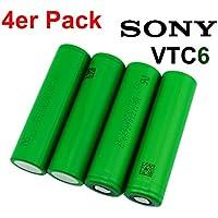 1/2/4baterías Sony vtc6Konion 650vtc618650+ cargador Efest slimik2
