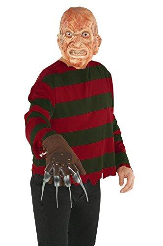 mare on Elm Street Halloween-Kostüm rot-schwarz (Freddy Krüger Halloween Kostüm Kinder)