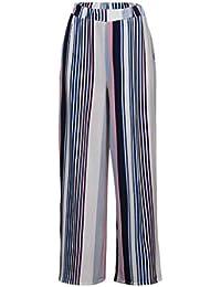 Amazon.es  Telas A Rayas - Pantalones   Mujer  Ropa cc6ddb12ab55