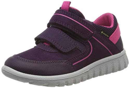 Superfit Baby-Girls Sport7 Mini Gore-Tex Sneaker, Violett (Lila/Rosa 90), 25 EU