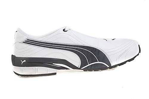861f2e687 Puma 18888501 Men S Tazon Iii Dp White New Navy And Silver Mesh Running  Shoes 10 Uk- Price in India