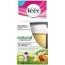 La eliminación del pelo VEET Refill EasyWax de piernas y brazos 50ml de aceite Monoï