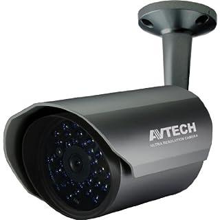 BS AV-Tech Außenkamera AVC 169, 700 TVL (960 H CCD: 976 x 582 Pixel), 3,6 mm, BNC-Anschluss