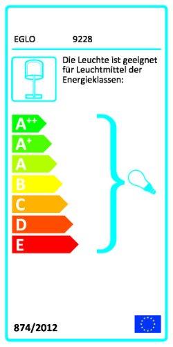 Eglo Kabelkanalverlängerung / Modell Extention / Baldachin 12 cm breit / bis zu 157 cm lang / selbst zusammenstellbar / Stahl weiß 92288