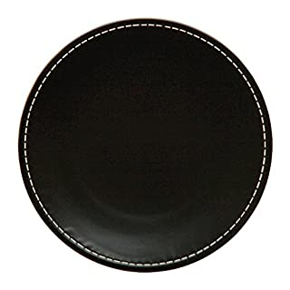 Avet Spain Set Of Dinner Plates, Stoneware 27.5x27.5x2.5 cm brown