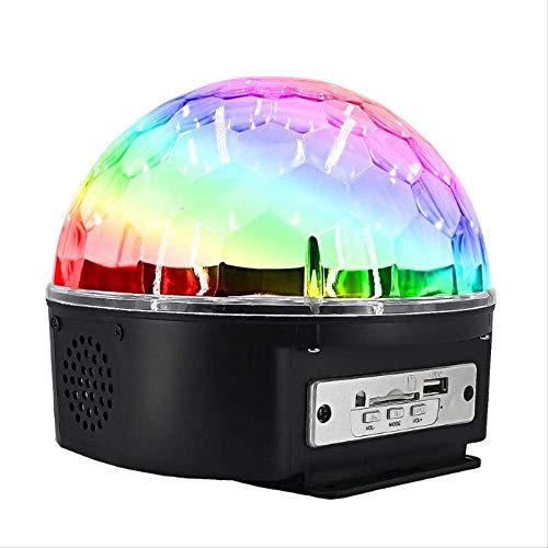 Dreher Ball 9 Farben Light Strobe Disco Stage Light mit Fernsteuerung EU ()